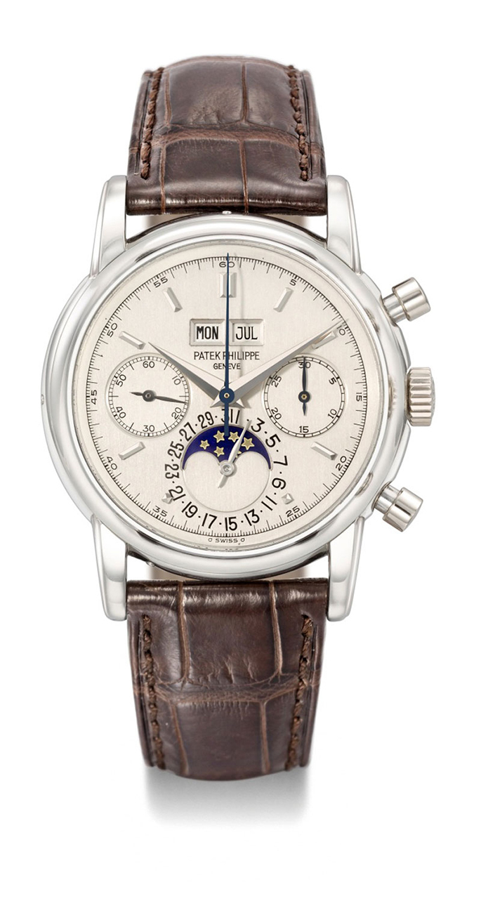 Patek Philippe (reference 2499/100P) Perpetual Calendar Chronograph