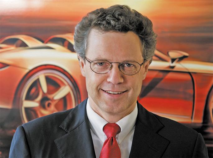 Chủ tịch Bugatti Wolfgang Drheimer