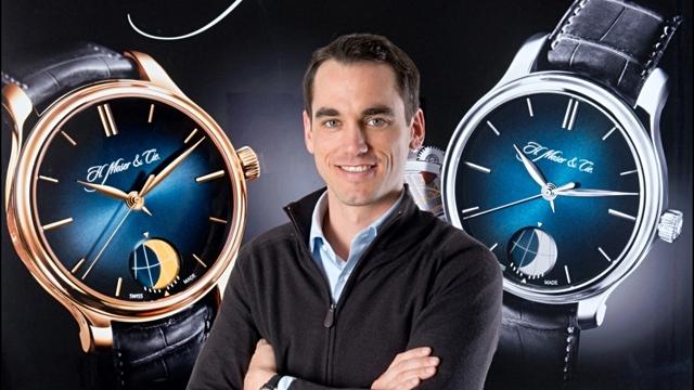 Edouard Meylan, chàng kỹ sư kiêm thạc sĩ quản trị kinh doanh, hiện là CEO của H. Moser & Cie.